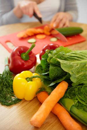 Vegetables close-up. Healthy food
