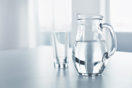 Water. Health And Diet Concept. Drinks. Woman's Hand Holding Glass Of Pure Water. Healthy Eating, Lifestyle. Healthcare And Beauty. Stockfoto