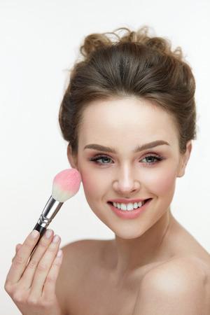 Soft skin girl facial