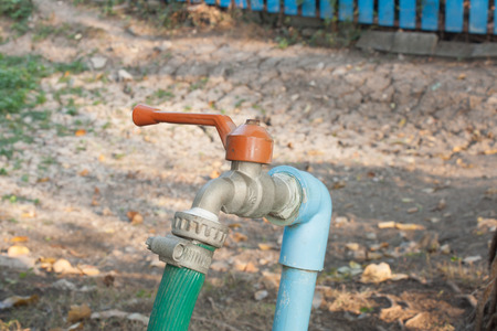 Old faucet photo