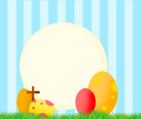 christian trust: Easter background, cover and wallpaper