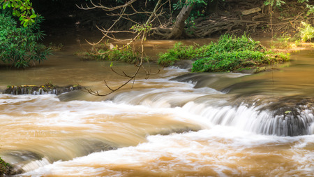 Chet Sao Noi Waterfall Nationalpark,Muak Lek, Saraburi, Thailand.