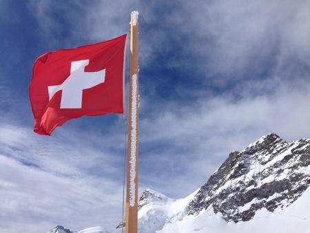 Jungfrau Stock Photo