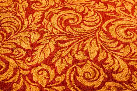 Red carpet pattern 写真素材