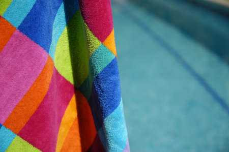 Towel by the pool
