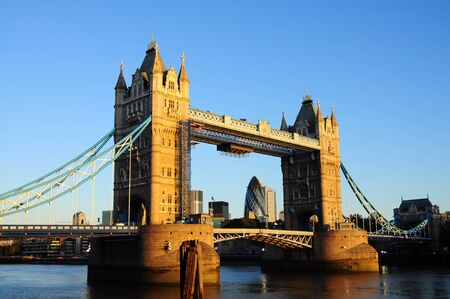 Tower Bridge in sunshine, London Stock Photo - 9404079