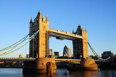 Tower Bridge in sunshine, London