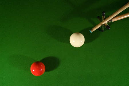Classic elements of snooker and billiards Stock Photo - 9880211