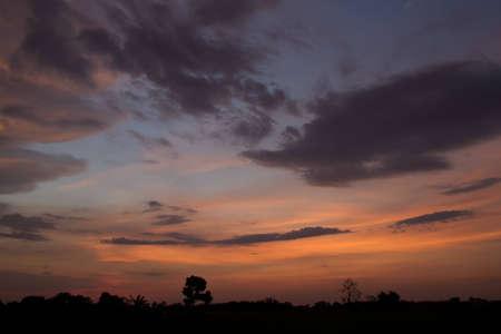 fondo azul: The sky  Sunrise