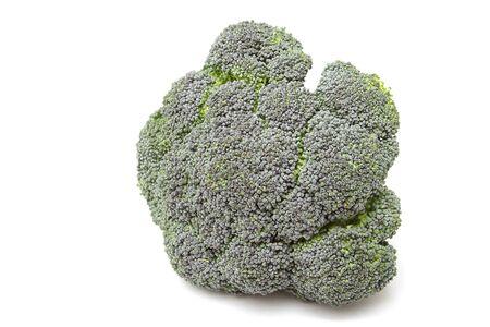 Photo of broccoli isolated on the white background Stock Photo