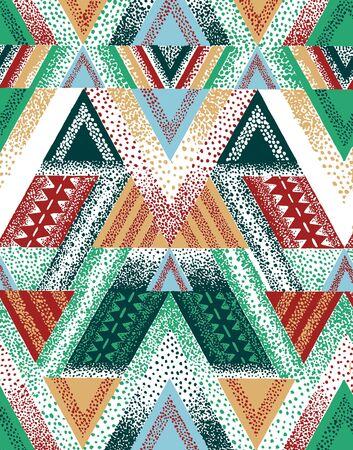 Abstract scarf bandana color print. Stok Fotoğraf