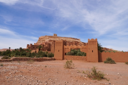 The Kasbah Ait Ben Haddou  in Morocco photo