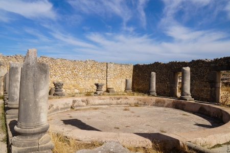 ancients: Volubilis is the best preserved Roman site in Morocco, UNESCO World Heritage site.