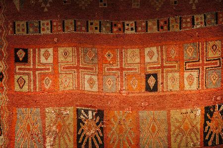 Colorful Moroccan cloth in Marrakech,Morocco photo