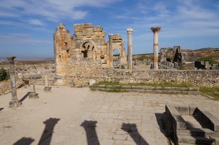 volubilis: Morocco. Volubilis - archaeological site