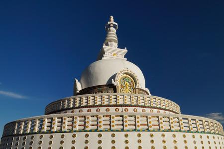 shanti: Beautiful Shanti Stupa near Leh, Ladakh, India
