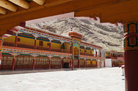 gompa: Beautiful Hemis monastery in Ladakh,Northern India