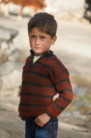 pakistani pakistan: Cute Pakistani boy in Northern area of Pakistan