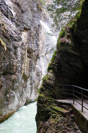 oberland: Aare Gorge (Aareschlucht) near Meiringen, Bernese Oberland, Switzerland