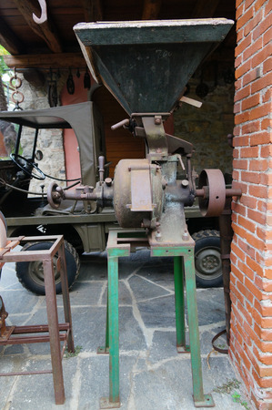 rice mill: Vintage  Rice Mill in switzerland