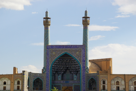 imam: Exterior of Imam Mosque in Isfahan,Iran.