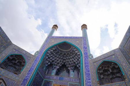 isfahan: Imam Mosque at Naqsh-e Jahan Square in Isfahan,Iran.