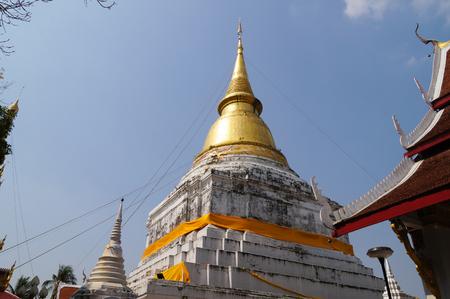 Beautiful Wat Phra Kaew Don Tao, Lampang, Northern Thailand.