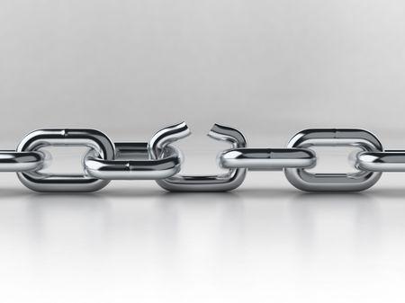 chain breaking Stock Photo - 4065546