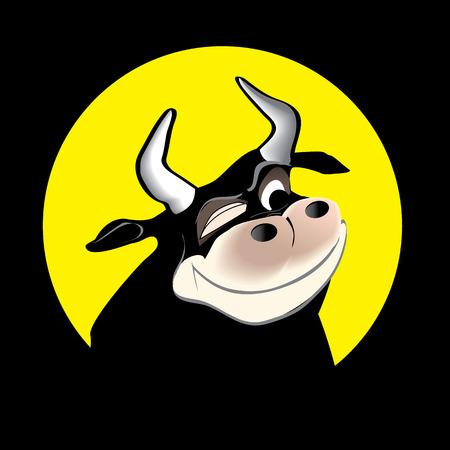 matador: cartoon stier