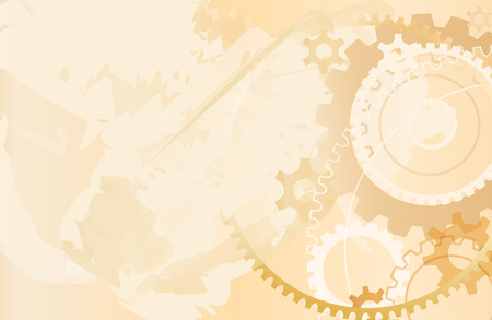 oude grunge mechanisme achtergrond vector  Stock Illustratie