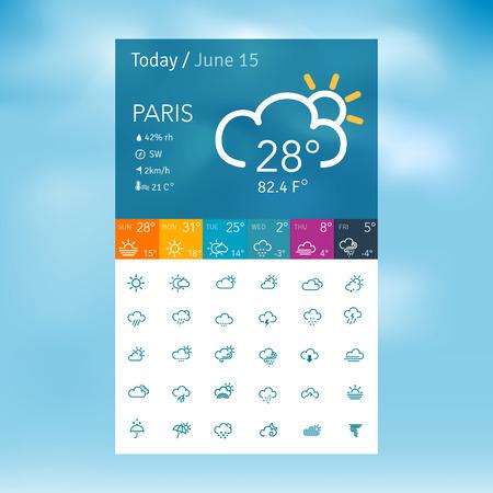 weather  thunder: weather icons