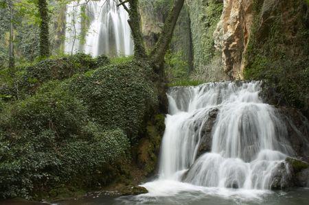 two Waterfalls Stock Photo - 391242
