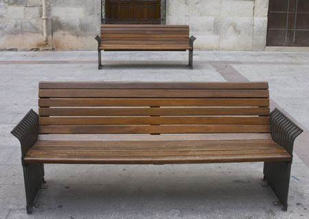 twin bench photo