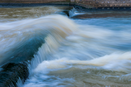 Picture of dam flow in Thailand Фото со стока