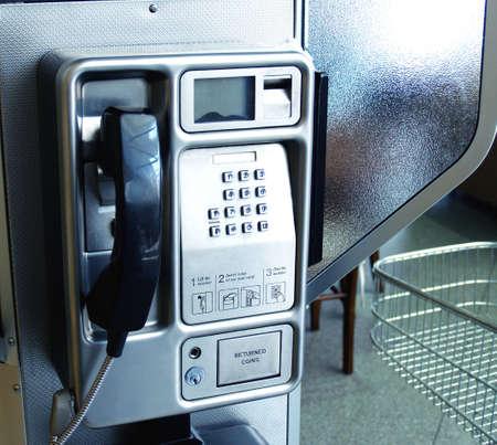 payphone: Monochrome Telephone