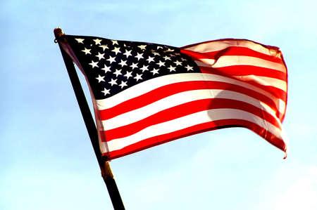 USA Vlag Stockfoto