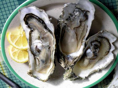 Drie Jumbo oesters voor stimulatie