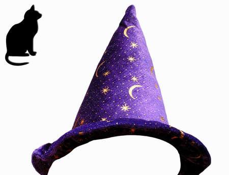 Magical Hat Zet iedereen in Harry Potter Stockfoto