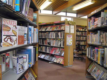 Uitdrukking Bibliotheek Stockfoto