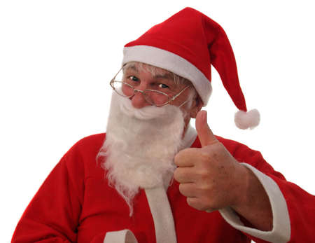 saint nick: Father Christmas giving you your request