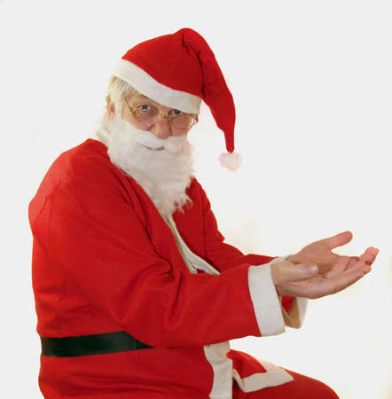 Santa with nothing or a place for your present