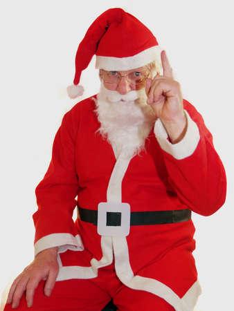 Santa zegt zeer voorzichtig