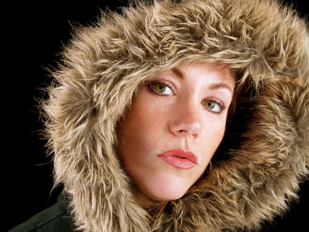 Winter hat for beautiful young lady to wear Stock Photo - 746254