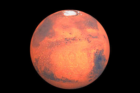 Planet mars the traditional god of war photo