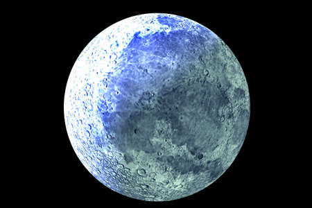 Blue moon you saw me standing alone Stock Photo - 1576699