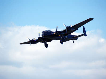 featured: Historic Lancaster bombers featured in the film dambusters    Stock Photo