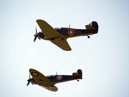 On patrol ww2 aircraft dominate the sky