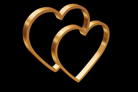 Two Hearts In One A Symbol Of Love