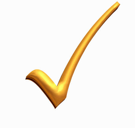 Golden tick for those times when you win