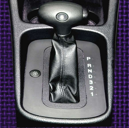 overdrive: Automatic gears on a modern passenger car